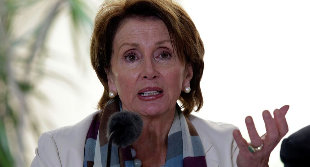 Nancy Pelosi, la congresista estadounidense