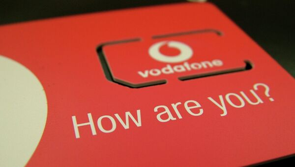 Tarjeta SIM de Vodafone - Sputnik Mundo