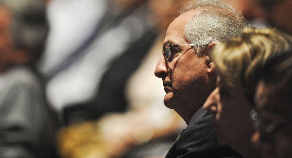 Antonio Ledezma, opositor venezolano (archivo)