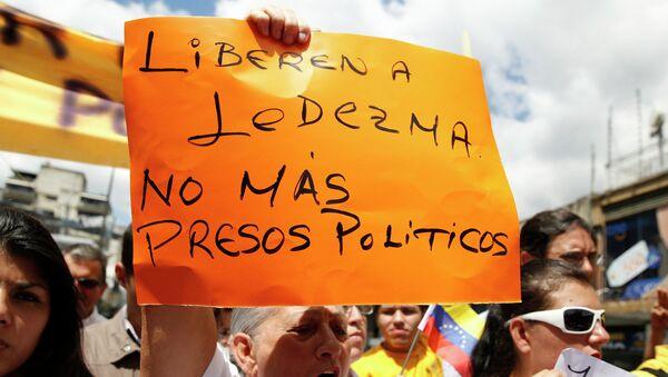 Arresto de alcalde de Caracas es preocupante, dice Amnistía Internacional - Sputnik Mundo