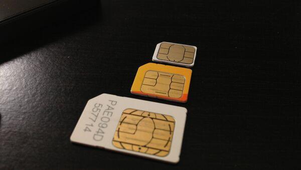 SIM cards - Sputnik Mundo