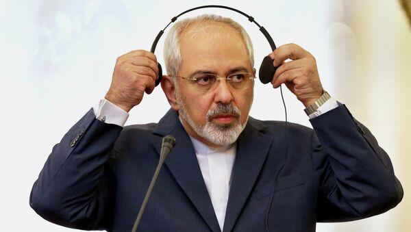 Iranian Foreign Minister Mohammad Javad Zarif - Sputnik Mundo