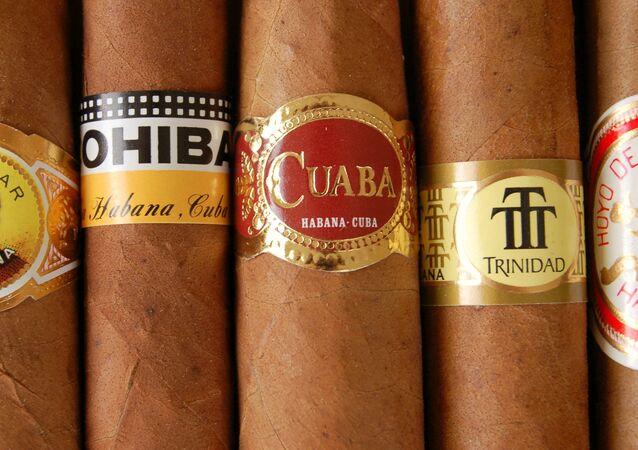 Puros cubanos (imagen referencial)
