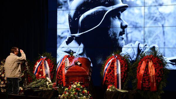 Прощание с Андреем Стениным в МИА Россия сегодня - Sputnik Mundo