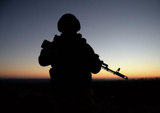 Miliciano de la RPD. Archivo