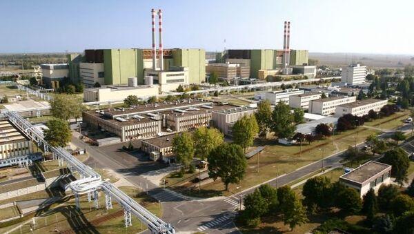 Proyecto de la construcción de la central nuclear de Paks en Hungría - Sputnik Mundo