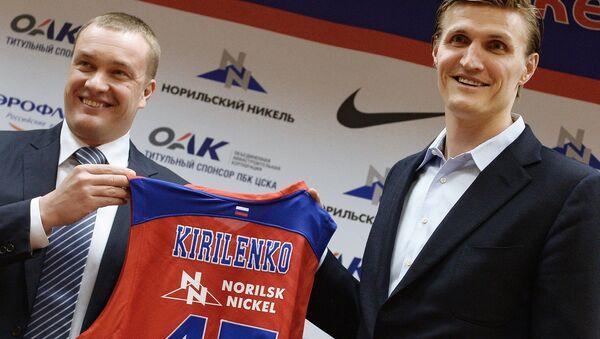 Баскетболист Андрей Кириленко подписал контракт с ПБК ЦСКА - Sputnik Mundo