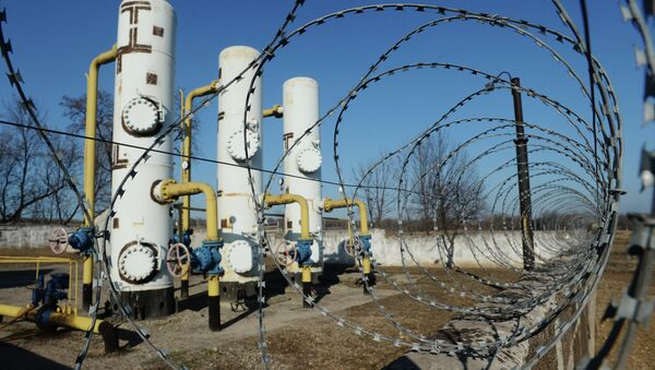 Gas-destribution station - Sputnik Mundo