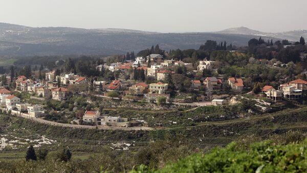 Colonia judía en Cisjordania - Sputnik Mundo