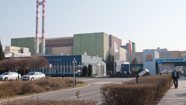 Central nuclear de Paks en Hungría - Sputnik Mundo