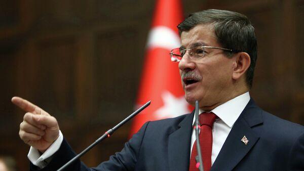 Ahmet Davutoglu, primer ministro de Turquía - Sputnik Mundo