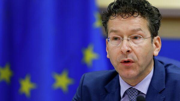 Jeroen Dijsselbloem, presidente del Eurogrupo - Sputnik Mundo