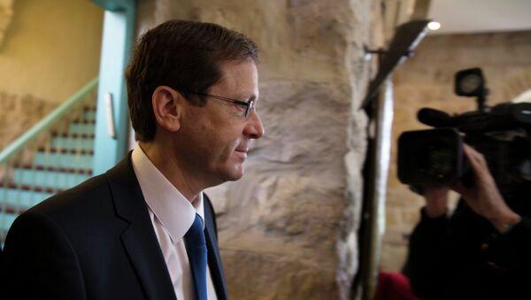 Isaac Herzog, líder del Partido Laborista y de la Unión Sionista - Sputnik Mundo