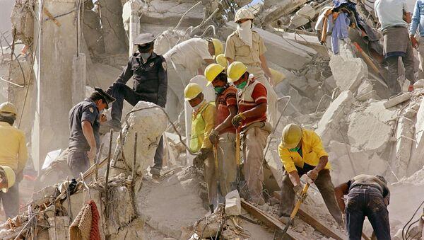 Terremoto de México de 1985 - Sputnik Mundo