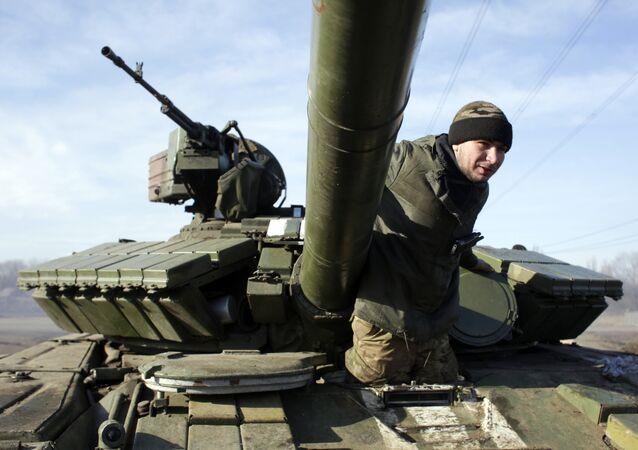 Soldado ucraniano (Archivo)