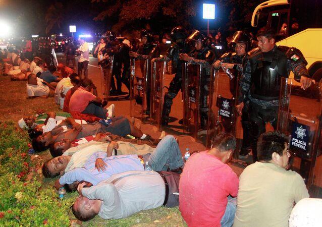 Disturbios en Acapulco