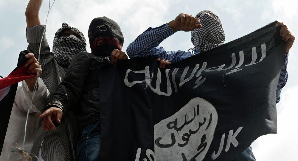 Los terroristas de Estado Islámico