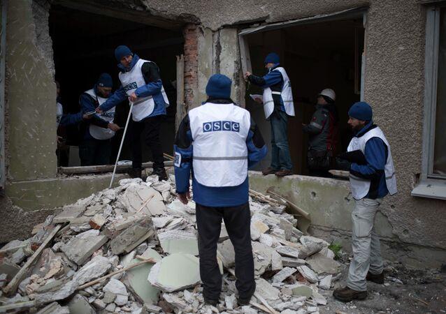 Empleados de OSCE