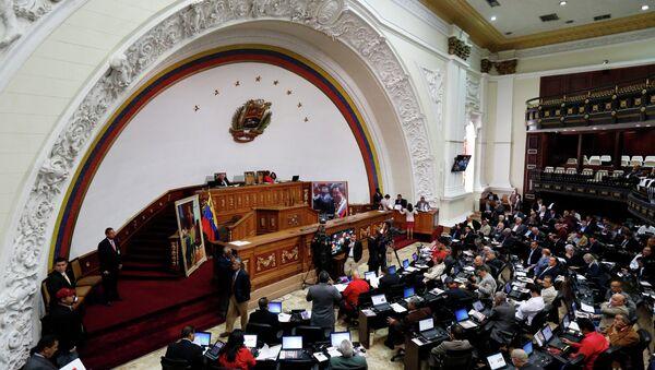 Vista general de la Asamblea Nacional Constituyente de Venezuela (Archivo) - Sputnik Mundo