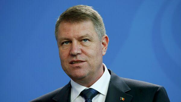 Klaus Iohannis, presidente de Rumanía - Sputnik Mundo