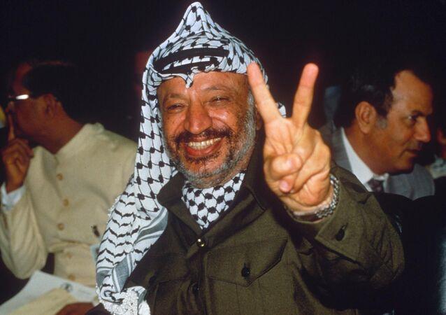 Yaser Arafat, exlíder de Palestina
