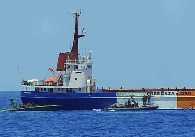 Asalto de las fuerzas israelíes a la Flotilla de la Libertad en el 2010
