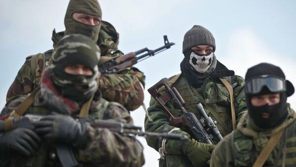 Milicianos de la RPD (archivo) - Sputnik Mundo