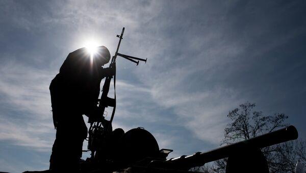 La izquierda radical asegura que hay españoles luchando en batallones pro Kiev - Sputnik Mundo