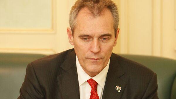 Dr. Rainer Seele, Präsident der Deutsch-Russischen Auslandshandelskammer - Sputnik Mundo