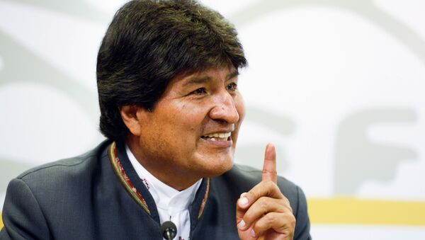 Evo Morales - Sputnik Mundo