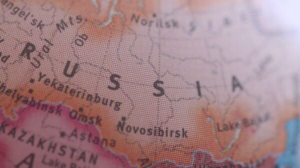 Mapa de Rusia - Sputnik Mundo