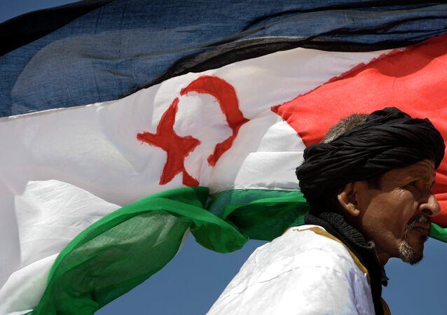 Bandera del Sahara Occidental