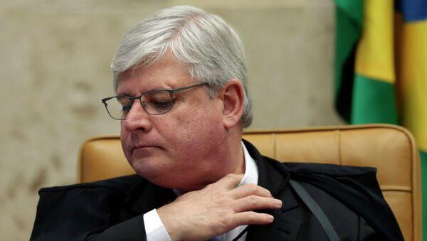 Brazil's prosecutor-general Rodrigo Janot  - Sputnik Mundo