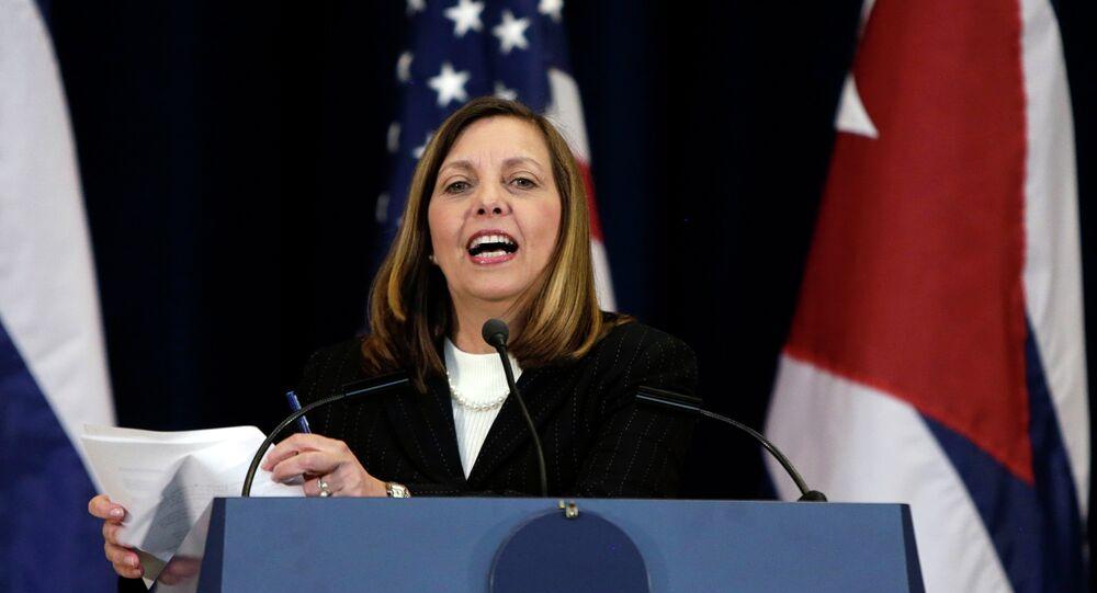 Josefina Vidal, jefa de la delegación cubana en EEUU