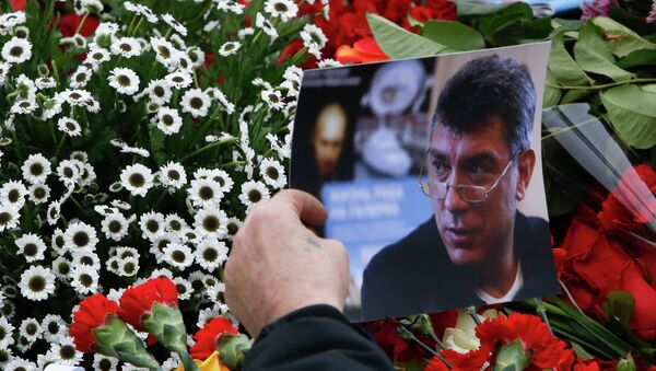 Ceremonia de despedida con Borís Nemtsov - Sputnik Mundo