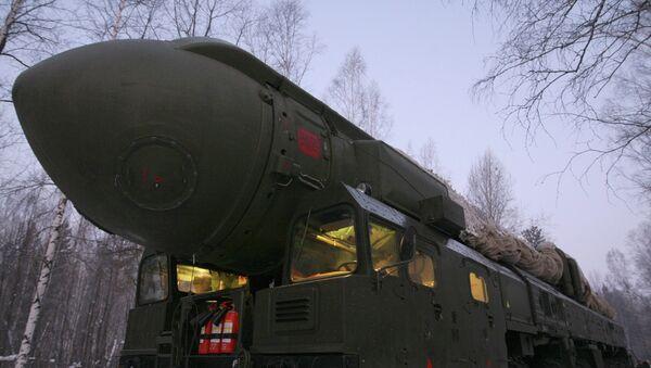 Misil intercontinental Tópol - Sputnik Mundo