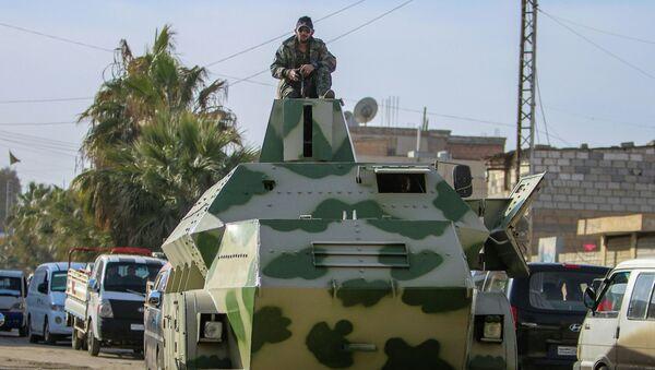 Combatiente de YPG - Sputnik Mundo