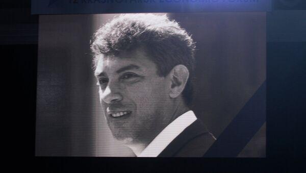 Homenaje a Borís Nemtsov - Sputnik Mundo