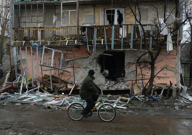 La situación en Debáltsevo