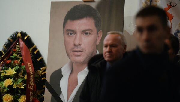 Retrato del líder opositor Borís Nemtsov - Sputnik Mundo