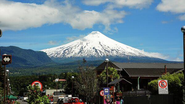 Volcán Villarrica (archivo) - Sputnik Mundo