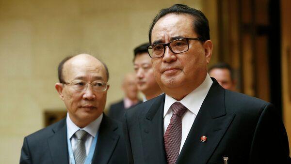 Ri Su Yong, ministro de Asuntos Exteriores de Corea del Norte - Sputnik Mundo