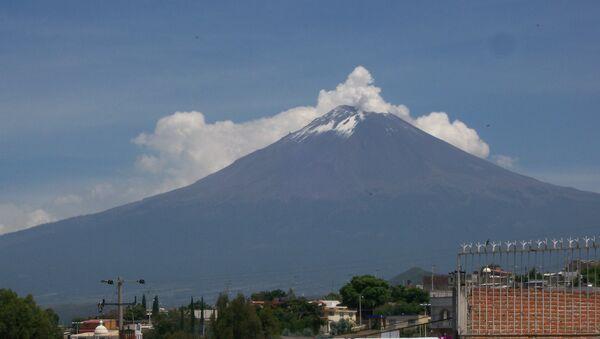 Pueblos cerca del volcán Popocatépetl - Sputnik Mundo