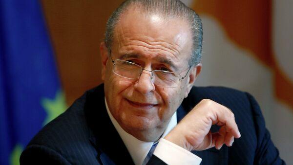 Ioannis Kasoulides, ministro de Asuntos Exteriores de Chipre - Sputnik Mundo