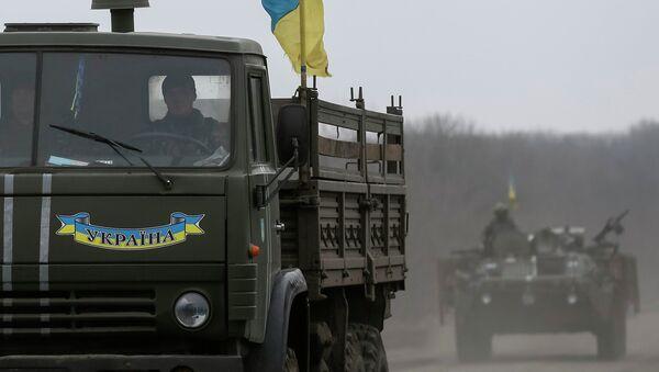 Soldados ucranianos cerca de Artiómovsk - Sputnik Mundo