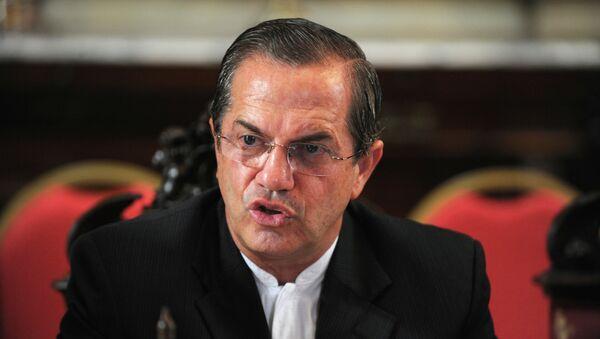Ricardo Patiño, exministro de Relaciones Exteriores de Ecuador (archivo) - Sputnik Mundo