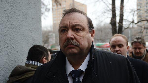 Gennadi Gudkov, coronel retirado del Servicio Federal de Seguridad de Rusia (FSB), uno de los compañeros del fallecido Borís Nemtsov - Sputnik Mundo