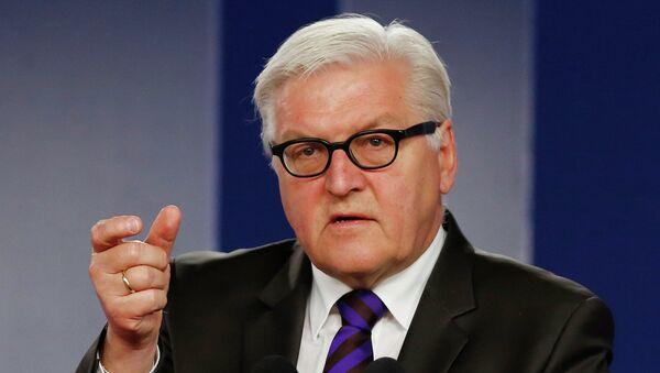 Frank-Walter Steinmeier, ministro alemán de Asuntos Exteriores - Sputnik Mundo