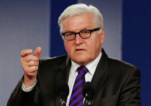 Frank-Walter Steinmeier, ministro alemán de Asuntos Exteriores