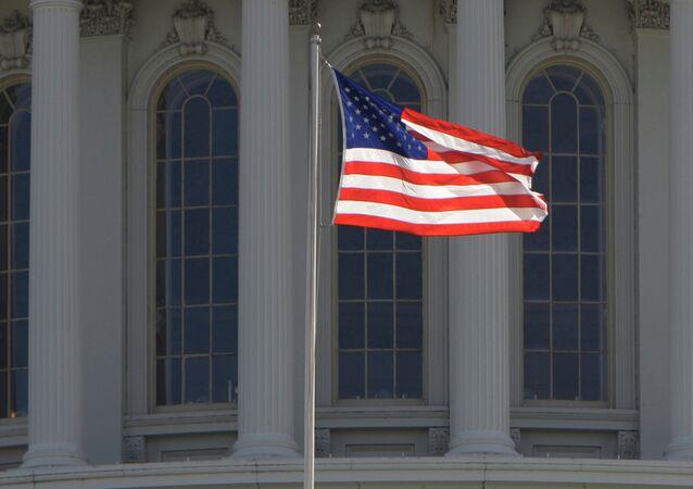 Bandera estadounidense (imagen referencial)